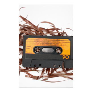 80's Retro Design - Audio Cassette Tape Stationery