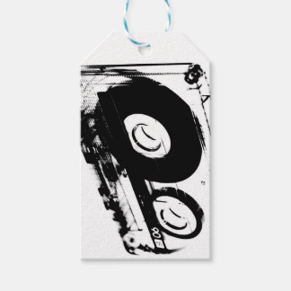 80's Retro Design - Audio Cassette Tapes Gift Tags