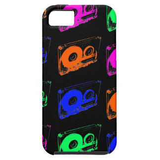 80's Retro Design - Audio Cassette Tapes iPhone 5 Case