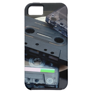 80's Retro Design - Audio Cassette Tapes iPhone 5 Cover