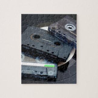 80's Retro Design - Audio Cassette Tapes Jigsaw Puzzle