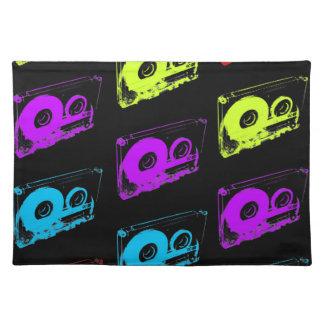 80's Retro Design - Audio Cassette Tapes Placemat