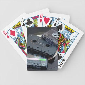 80's Retro Design - Audio Cassette Tapes Poker Deck