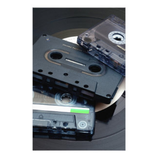80's Retro Design - Audio Cassette Tapes Stationery