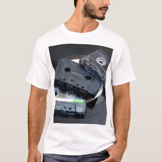 80's Retro Design - Audio Cassette Tapes T-Shirt