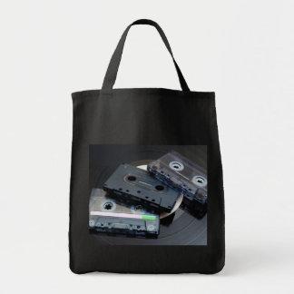 80's Retro Design - Audio Cassette Tapes Tote Bag