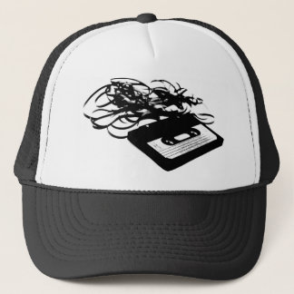 80's Retro Design - Audio Cassette Tapes Trucker Hat