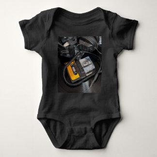 80's Retro Design Baby Bodysuit