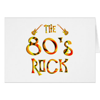 80's Rock Greeting Cards