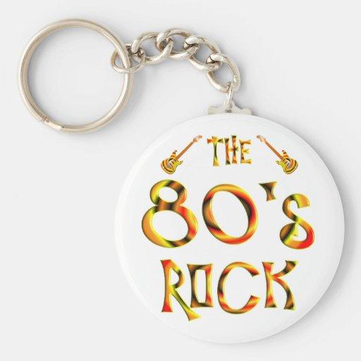 80's Rock Key Chains