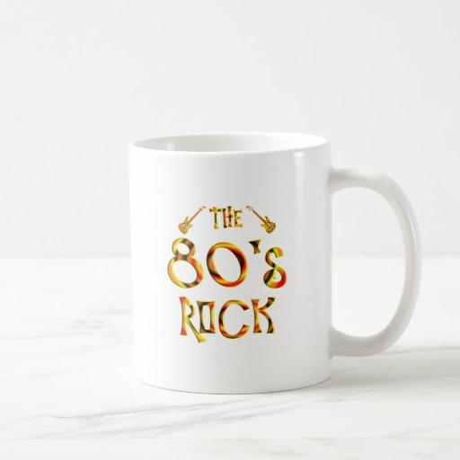 80's Rock Mugs