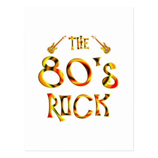 80's Rock Postcards