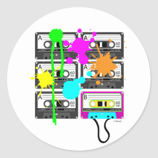 80s Spalt Mix Tape Stickers