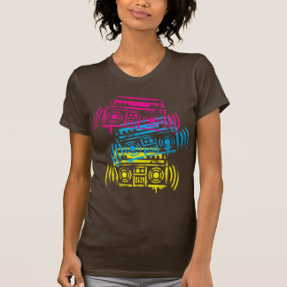 80's Stenciled Boomboxes T-Shirt