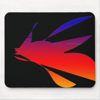 80's Sunset Mouse Pad