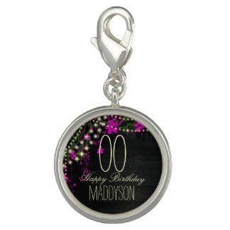 80th 85th 90th 91st 92nd 97th 98th 99th Birthday Photo Charms