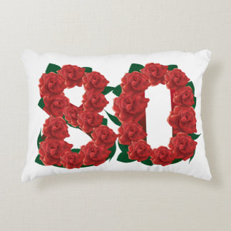 "80th Anniversary Accent Pillow 16"" x 12"""