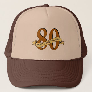 80th Birthday Cap Trucker Hat