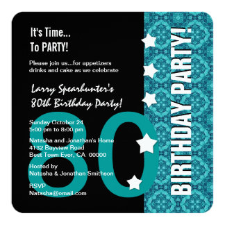 80th Birthday Funny NOT Over the Hill Z80D Card