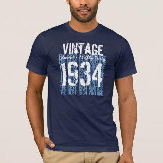 80th Birthday Gift 1934 Vintage Mighty Tasty 01 T-Shirt