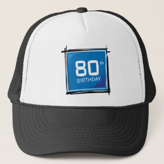 80th birthday hat