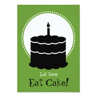 80th Birthday - Margarita vs Cake Card