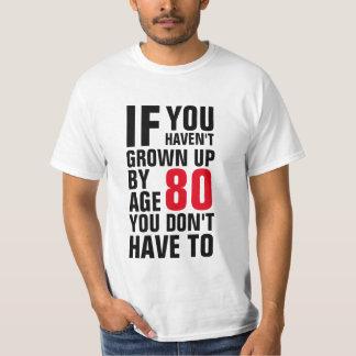 80th Birthday T-Shirt