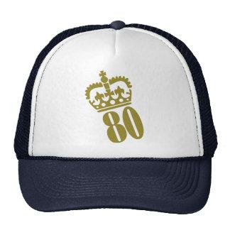 80th Birthday Trucker Hat