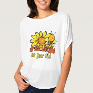 80th Birthday - Unbelievable at 80 Years Old T-Shirt