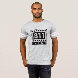 811 Films DISTRESSED LOGO football shirt
