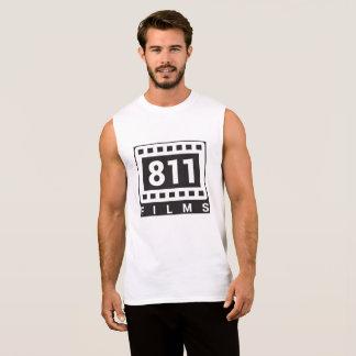 811 Films Logo  muscle shirt