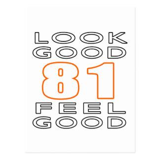 81 Look Good Feel Good Postcard