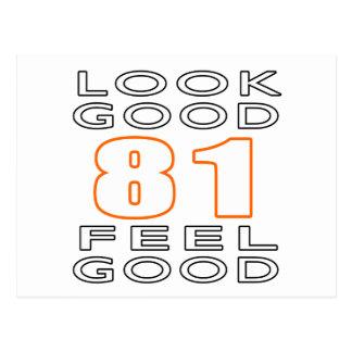 81 Look Good Feel Good Postcards