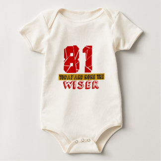81 Today And None The Wiser Baby Bodysuit