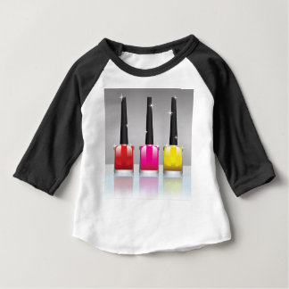 81Nail Polish Bottle_rasterized Baby T-Shirt