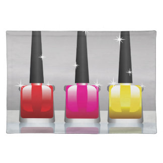 81Nail Polish Bottle_rasterized Placemat