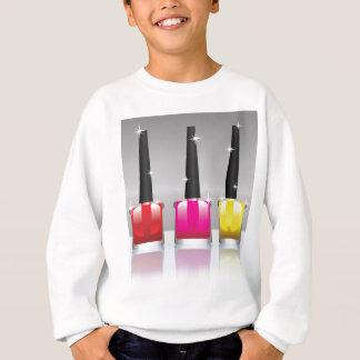81Nail Polish Bottle_rasterized Sweatshirt