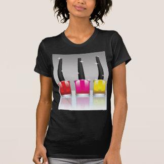 81Nail Polish Bottle_rasterized T-Shirt