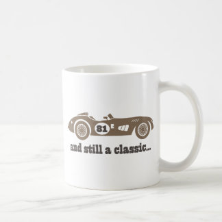 81st Birthday Gift For Him Coffee Mug
