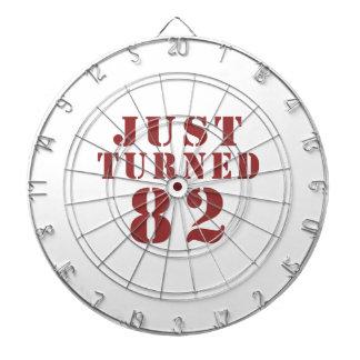 82 Just Turned Birthday Dartboards