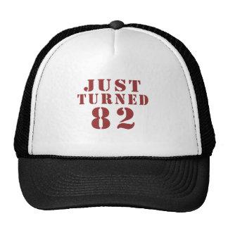 82 Just Turned Birthday Trucker Hat