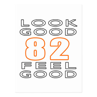 82 Look Good Feel Good Postcard