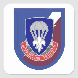 82D AIRBORNE SUSTAINMENT BDE FLASH/DUI STICKERS