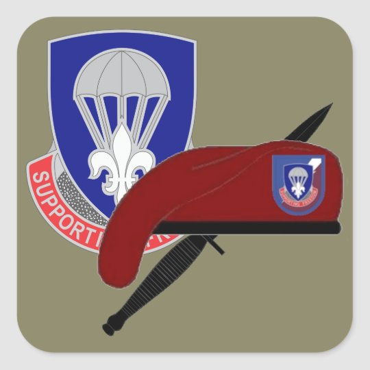 82D AIRBORNE SUSTAINMENT BDE STICKERS