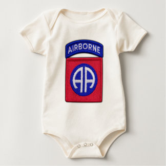 82nd ABN Airborne Div Vets LRRP Baby Bodysuit