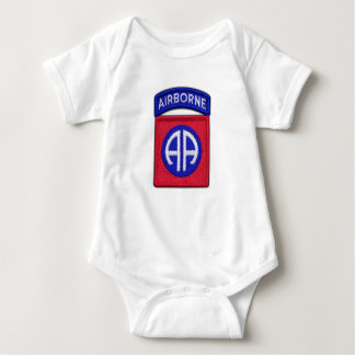 82nd ABN Airborne Division Bragg Patch Baby Bodysuit