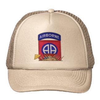82nd ABN Airborne Division Vietnam War Vets Patch Trucker Hat