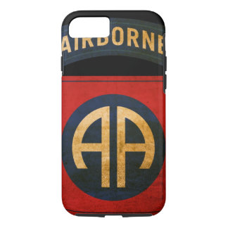 82nd Airborne Distressed Division Patch iPhone 7 iPhone 8/7 Case