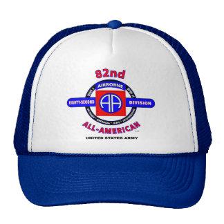 "82nd Airborne Division ""All American"" Trucker Cap Trucker Hat"