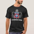 82nd Airborne Division dark t-shirt